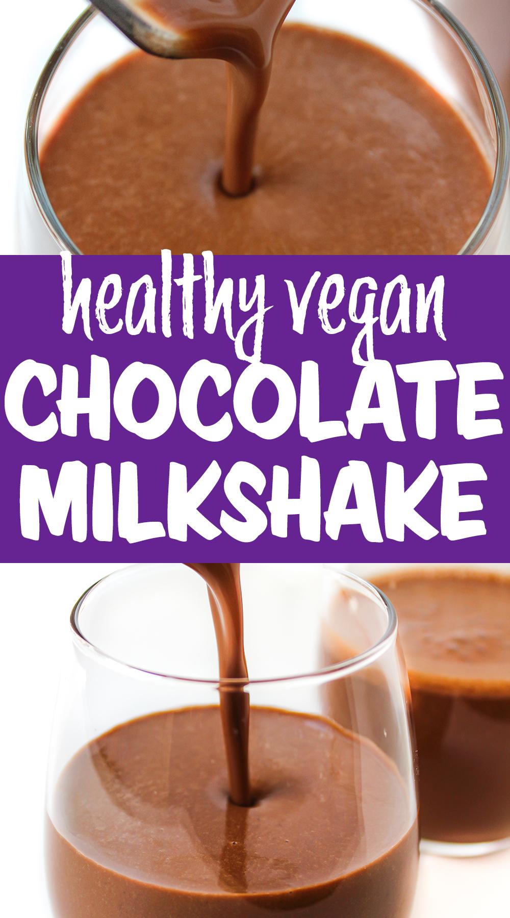 healthy milkshake photo collage