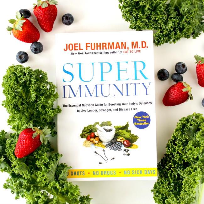 Super Immunity book by Dr. Joel Fuhrman