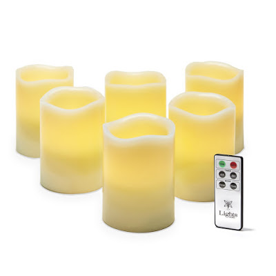 Flameless candles with remotes